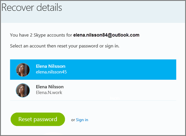how to make skype forgot your password