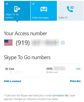 how to set a skype name