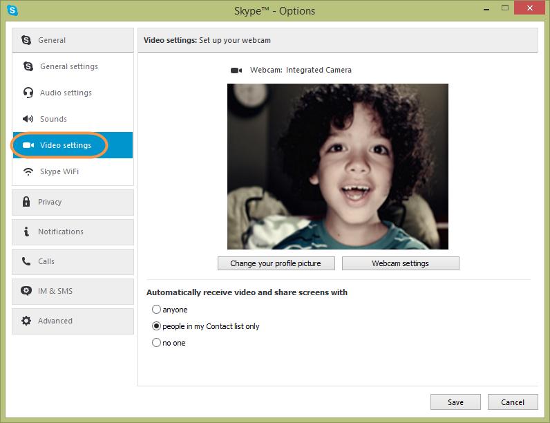 photo comment prendre photo skype mac