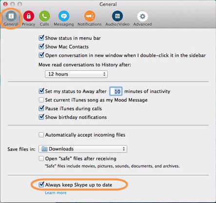 Comment puis je d sactiver les mises jour automatiques dans skype pour mac os x - Comment installer office sur mac ...