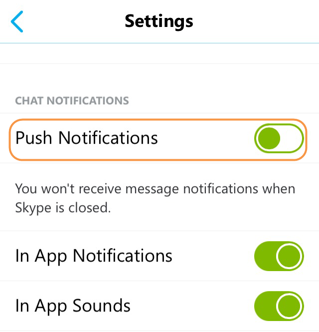 how to change skype notification sound on phone