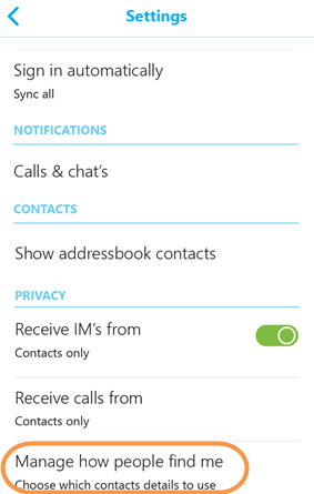 How Can I Make Myself Searchable In Skype For Android